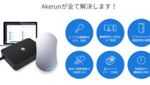 【akerun】価格は最安値取り扱い販売店舗《オンライン鍵管理システム》